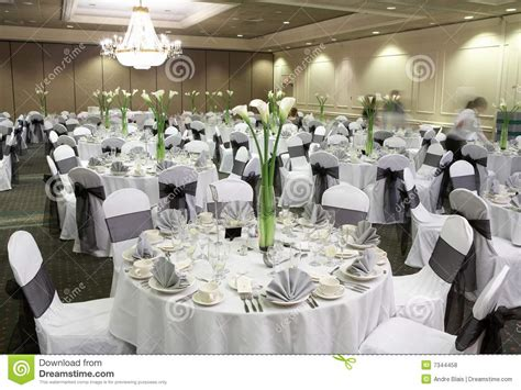 Centerpieces For Formal Dining Room Table - wedding reception area royalty free stock photos image 7344458