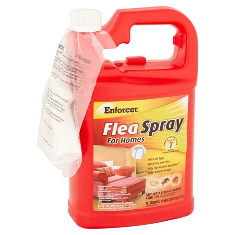 flea spray for upholstery enforcer flea spray for carpets and furniture reviews