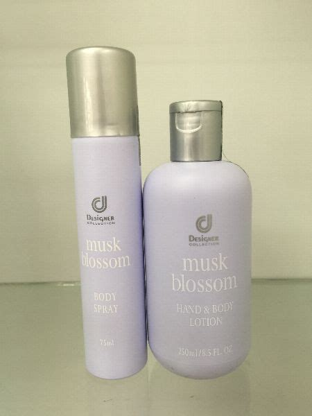 R Series Lotion designer collection musk blossom r series