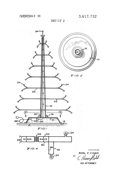 tree system of house wiring patent us3617732 artificial tree with an electrical