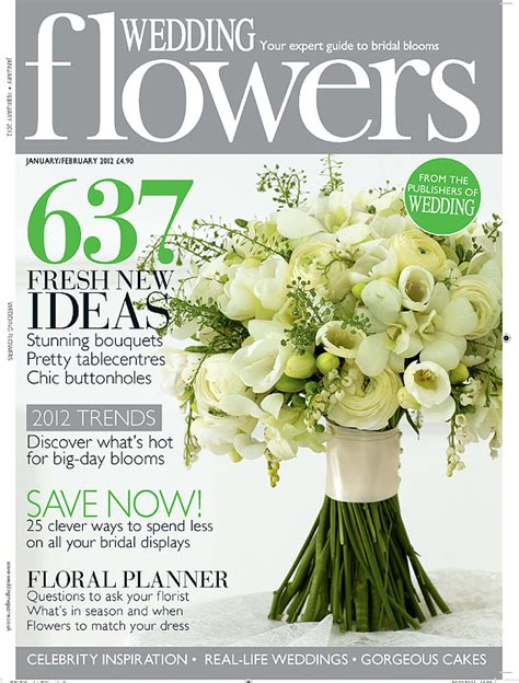 flower wedding magazine featured in wedding flowers uk magazine team hair makeup