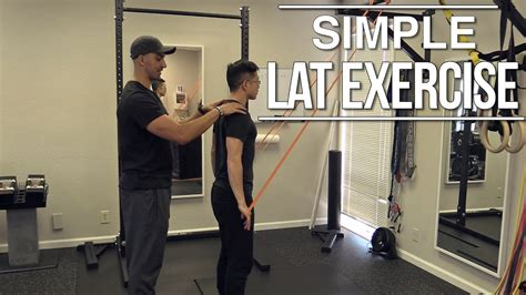 best lat exercises activate your lats easy lat exercise you can do at home