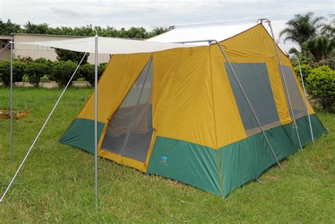 Tents With Awnings by Two Room Cabin Tent 10 X 14 Two 10 X7 Cabins Rugged