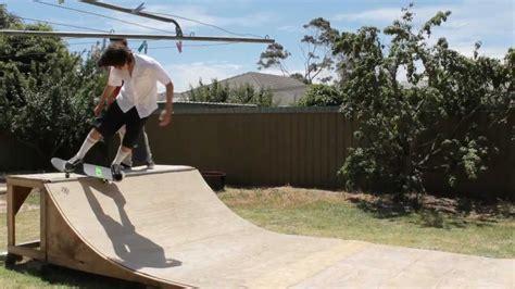 backyard skate r josh s mini r youtube