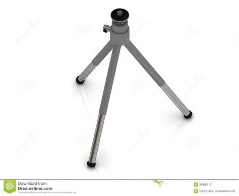 Tripod Background aluminum tripod for the royalty free stock photography image 31486717