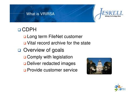 California Dept Of Health Vital Records Wewebu Customer Success Story California Dept Of Health