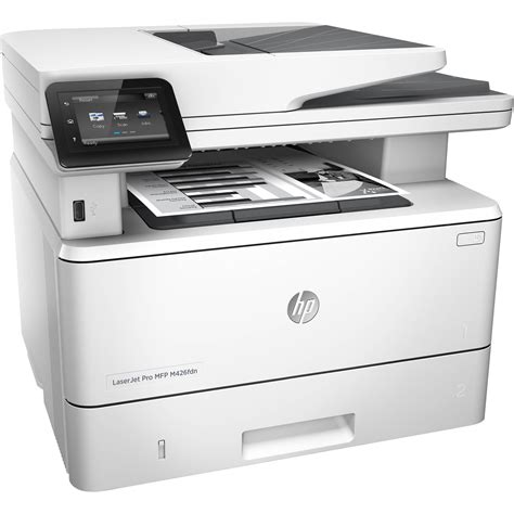 Printer Hp Laser hp laserjet pro m426fdn all in one monochrome laser f6w14a b h