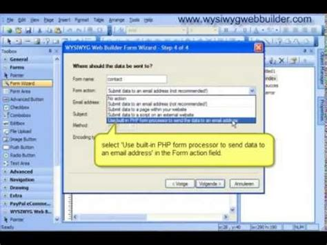 tutorial website builder formwizard tutorial with wysiwyg website builder youtube