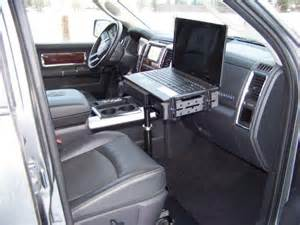 Computer Desk For Vehicles Prodesks Enforcer Ii Vehicle Laptop Computer Stand