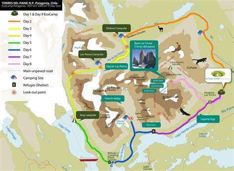 Karet Boot Trail chile patagonien quot trekking um den torres paine
