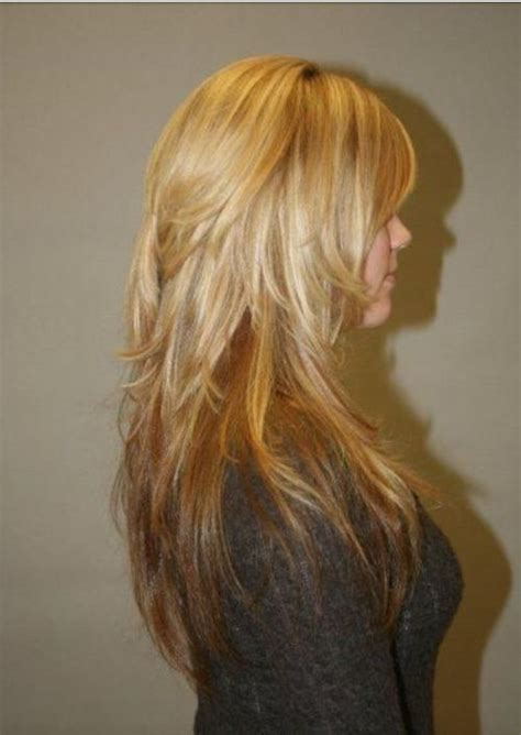 pictures of back of choppy layered hair best 25 long choppy layers ideas on pinterest long