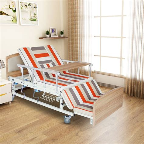 back adjustable patient used steel manual hospital style beds for home alibaba