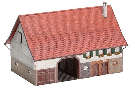 farmhouse kit faller 130535 large farmhouse kit i