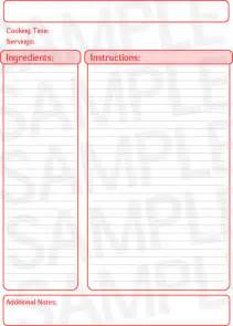 recipe templates for pages free recipe template page free printables