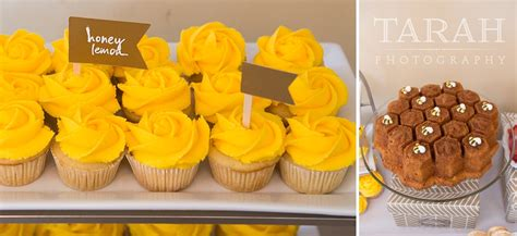 Baby Shower Cupcakes San Diego by Maternity Photographer San Francisco Bee Baby Shower