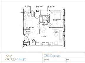 open plan floor plan 2 bedroom house plans open floor plan modern house