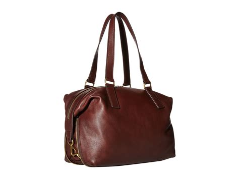Fossil Large Satchel by Fossil Brown Large Satchel Lyst