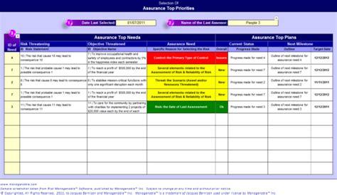 Risk Management Software Pro Edition Download Software Risk Assessment Template