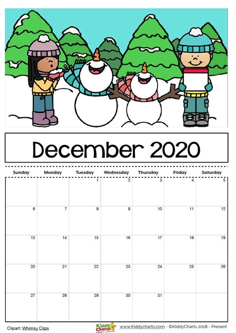 printable  calendar  kids including  editable version