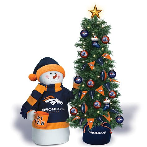 a broncos christmas the danbury mint