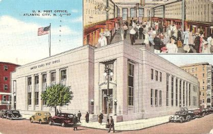 Atlantic City Post Office by Retiring Atlantic City Post Office Postcard Series