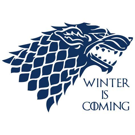 Tshirt Winter Is Coming Vi vinilo juego de tronos vinilo lobo stark vinilo paredes
