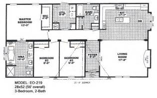 Double Wide Floor Plans Double Wide Mobile Home Floor Plans