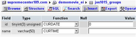format date phpmyadmin mysql how to insert date in a mysql database table