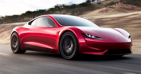 Top Speed Tesla Roadster Tesla Roadster Second Generation Debuts 0 97 Km H In 1