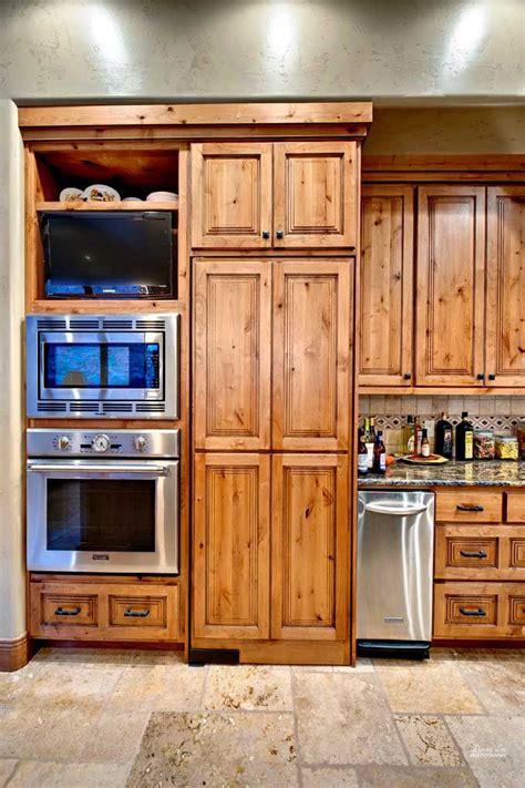 cabinets knotty alder kitchen alder pinterest
