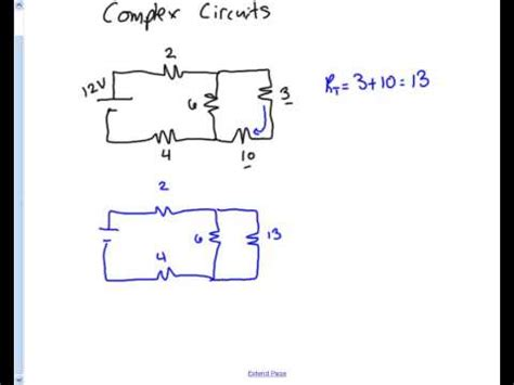 how to find out the resistance of a resistor complex circuits total resistance