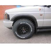 Discovery 2 TD5 Black Modular Wheels 16 X 8