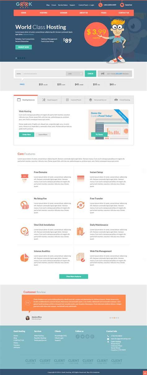 Web Hosting Company Template 15 Amazing Responsive Html5 Css3 Web Templates For Designers Html5 Css3 Design Blog