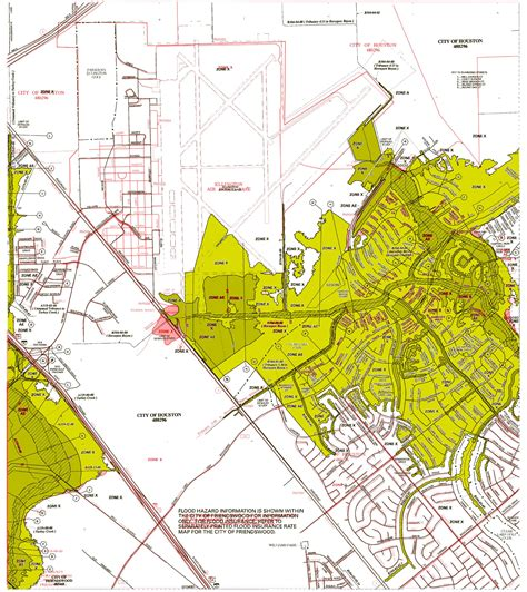 harris county map texas panel 1060