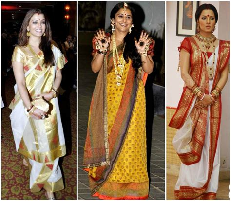 styles of draping saree in wedding how to wear a saree in 9 different ways for wedding