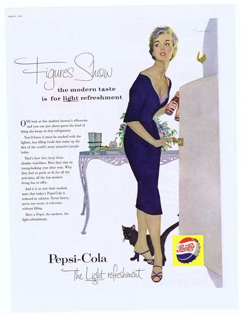 figure ad 1955 ad pepsi cola figures show from sharp