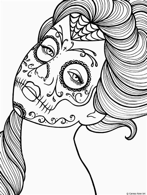 coloring pages for day of the dead calavera day of dead coloring coloring pages