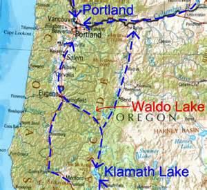 waldo lake oregon map waldo lake just say no to floatplanes aviation impact