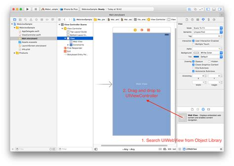 xcode uiwebview tutorial creating a simple browser with uiwebview in swift