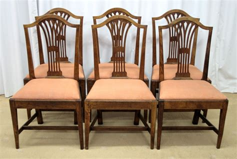 Antique Dining Chairs For Sale Six Georgian Mahogany Dining Chairs For Sale Antiques Classifieds