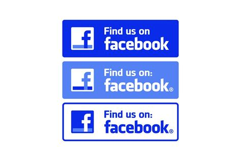 Find On Fb Find Us On Logo Logo