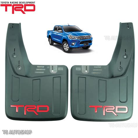 Mud Flaps For Toyota Tacoma Trd Rear Mud Flaps Mudflaps Splash Guard Toyota Hilux Revo