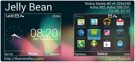 nokia c3 themes rasta jelly bean theme for nokia asha 302 c3 00 x2 01 320