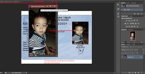 membuat ktp palsu tutorial coreldraw adobe photoshop pemula cara membuat