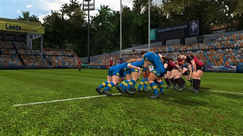 rugby league video game   full game speed