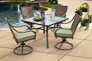 Kmart Patio Furniture Sets Garden Oasis Shoal Creek 5pc Dining Set Outdoor Living Patio Furniture Dining Sets