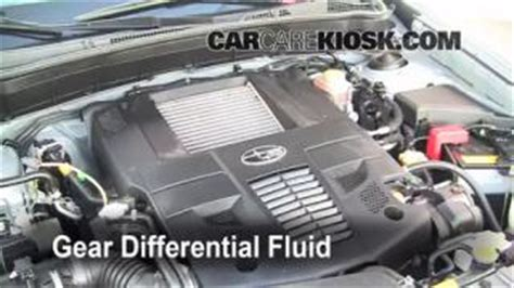 subaru forester transmission fluid change transmission fluid leak fix 2009 2013 subaru forester