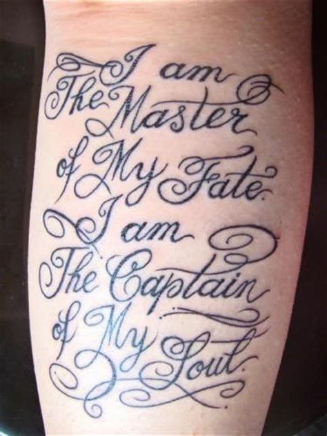 invictus poem tattoo tatto dindaa i am the o jays and masters