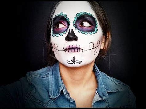 imagenes mujeres pintadas de catrinas maquillaje de catrina catrina makeup youtube