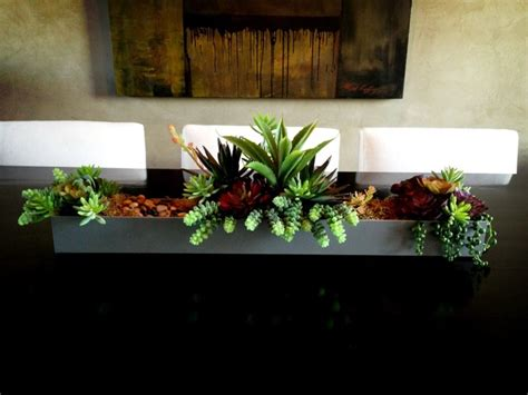 contemporary centerpieces succulent centerpieces contemporary home decor other